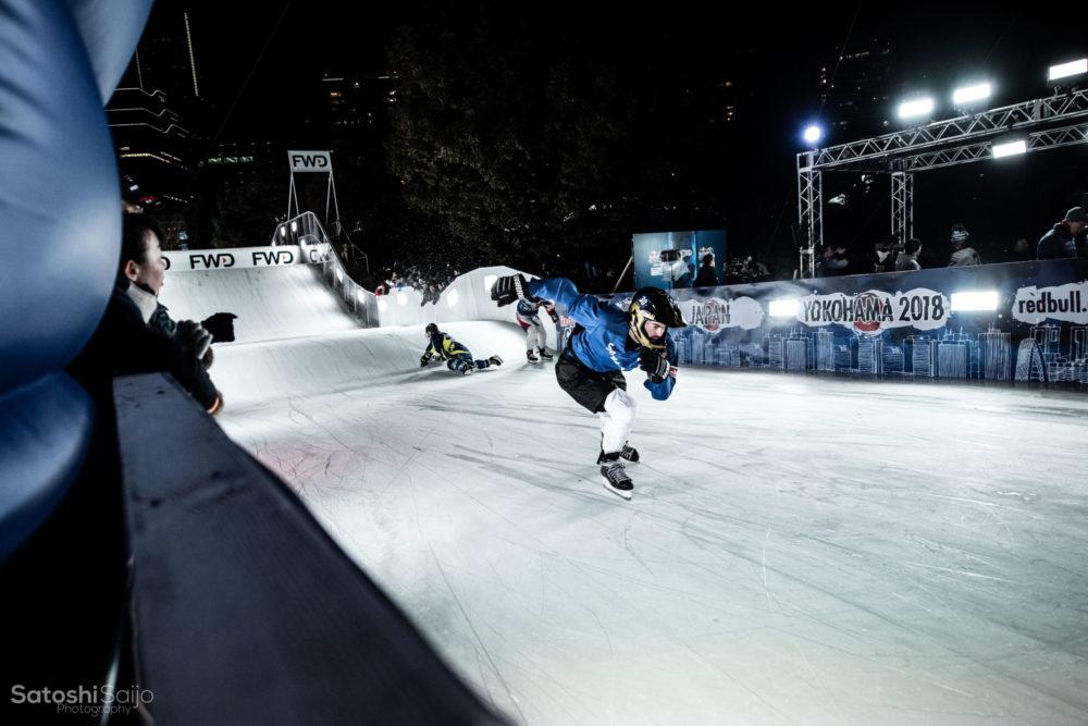 Japan Ice Cross Downhill